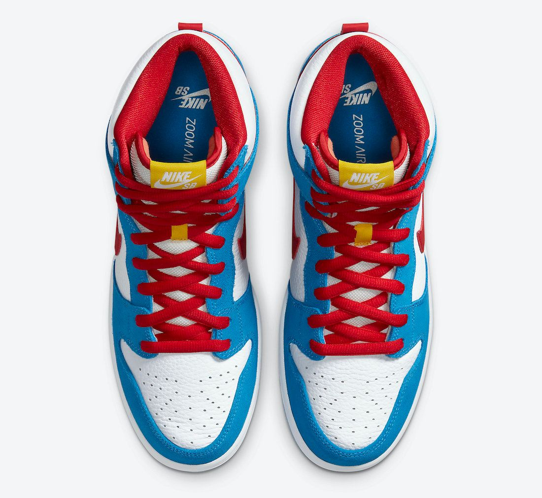 Nike SB Dunk High Doraemon Top
