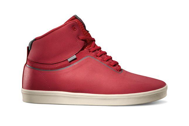 Vans Lxvi Stat Red Grey 1