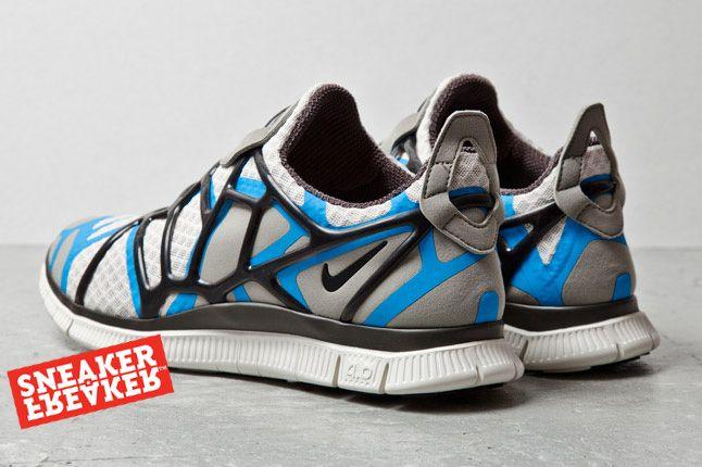 Nike Free Alt Closure Run Blue Grey 3 1