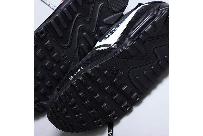Off White Air Max 90 Black White Release Info 7