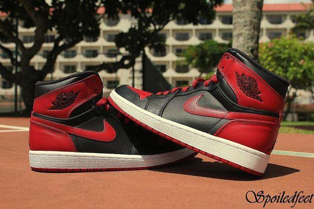 Air Jordan 1 Black Red 1