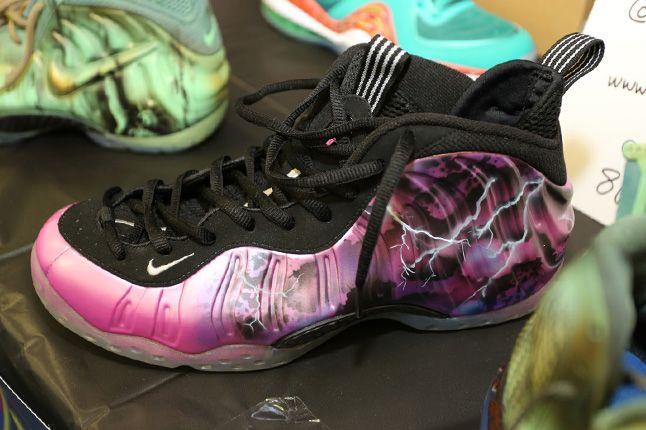 Sneaker Con Charlotte Foamposite Custom 1