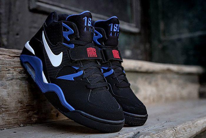 Nike Air Force 180 Black Sport Royal 1