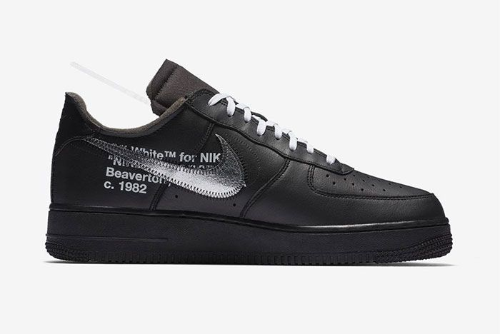 Off White Nike Air Force 1 Low Moma Right