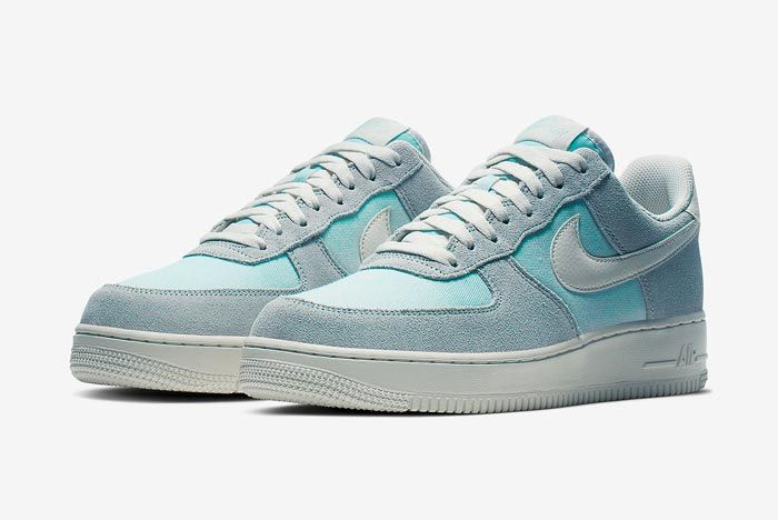 Nike Air Force 1 Ghost Aqua Pair