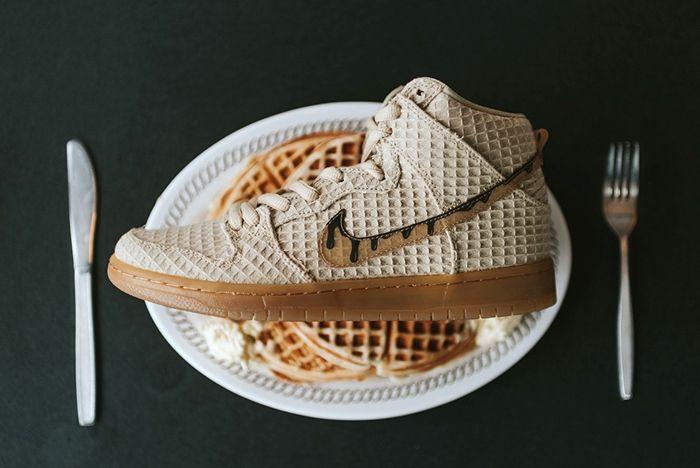 Nike Sb Dunk High Premium Waffles 2