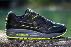 Nike Wmns Air Max 1 Cut Out Black Volt Thumb