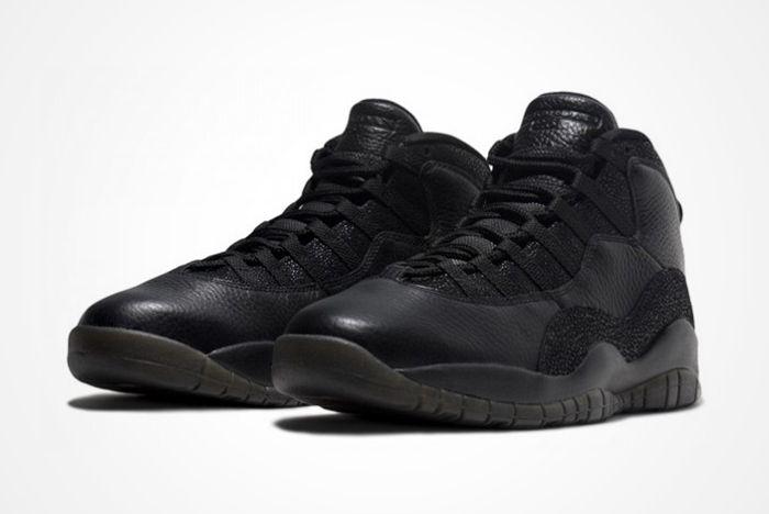 Drake X Air Jordan 10 Ovo Black Stingray