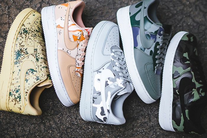 Nike Air Force 1 Camo Pack Small