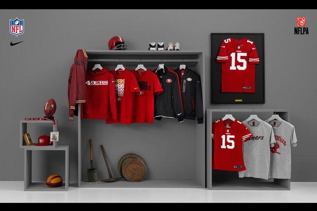 Nike Nfl Fanwear 49Ers 2012 1