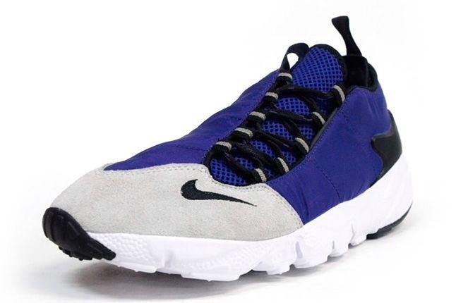 Nike Air Footscape Motion Grey Purple Front Quarter 1