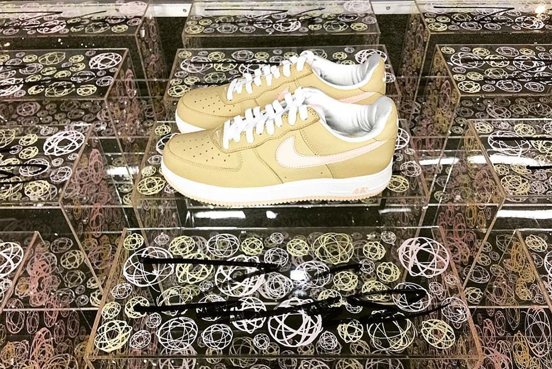 Nike Air Force 1 Linen To Return As Kith Exclusive In Colab With Futura