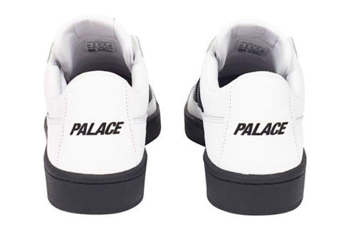 Adidas Palace Campton White Heel