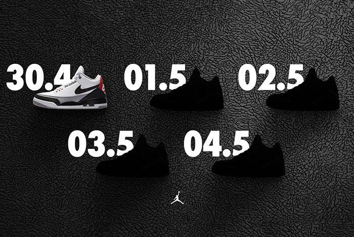 Air Jordan 3 Week Of 3S 2