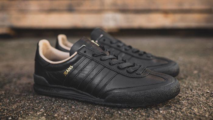 Feudal llamada desagüe  adidas Jeans Mkii (Black) - Sneaker Freaker