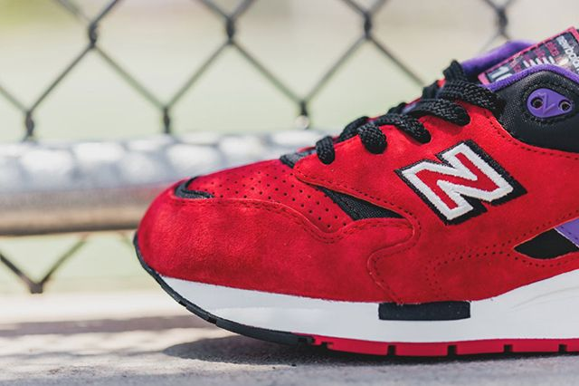 New Balance 1600 Pinball Red 2