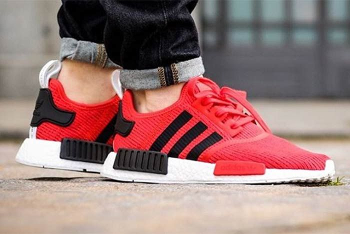 Adidas Nmd R1 Core Red 1