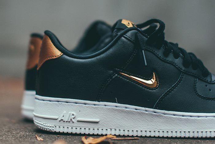Nike Air Force 1 Bronze Jewel Swoosh 2