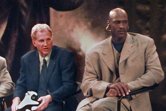 Tinker Hatfield Michael Jordan 97