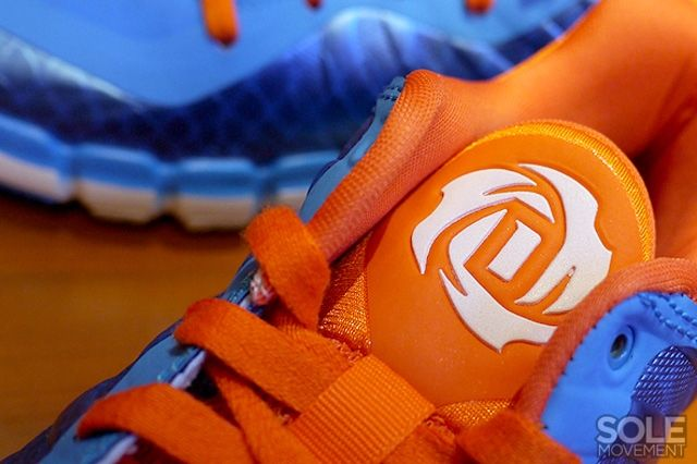 Adidas D Rose Englewood 2 Blue Orange 4