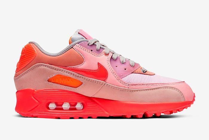 Nike Air Max 90 Prm Wmns Pink Right
