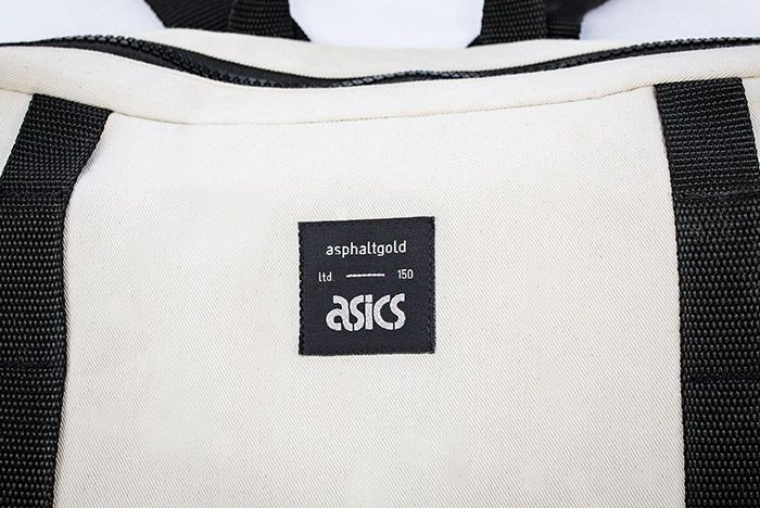 Asics Packpack Asphaltgold 2