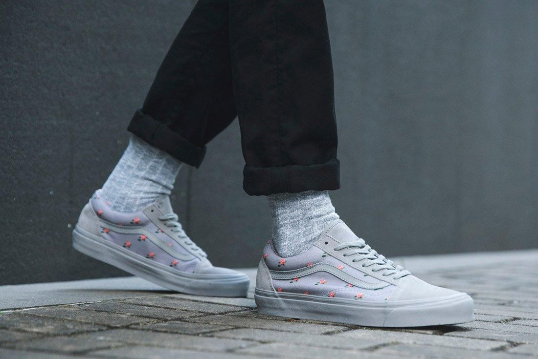 Vans Undercover Old Skool Floral Grey 1 2