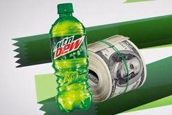 Thumb Mountain Dew Money