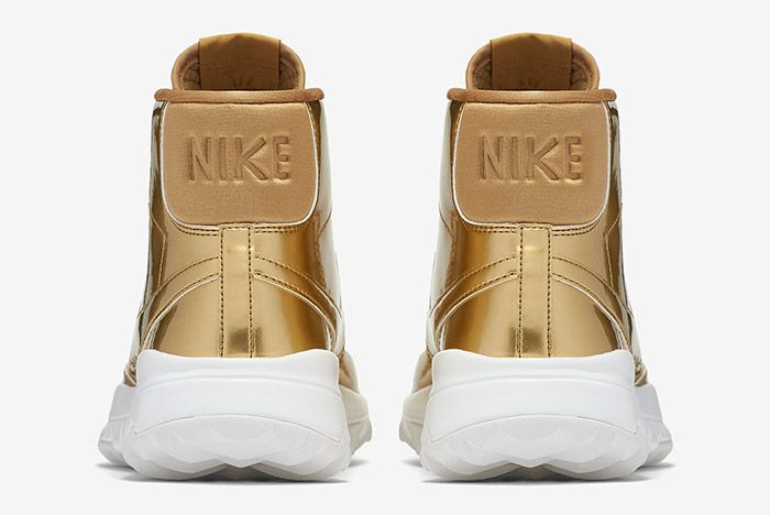 Nike Blazer Golf Metallic Gold Wmns 2