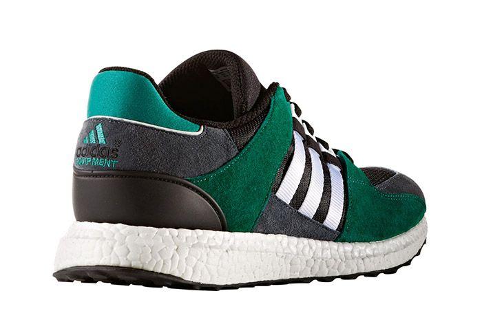 Adidas Eqt Support 93 16 Boost Green Black 3