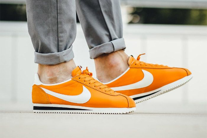 Nike Cortez Nylon Aw Clay Orange 3