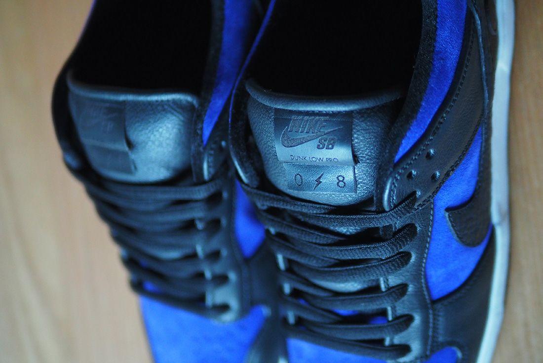 BespokeIND fragment Nike SB Dunk Low custom