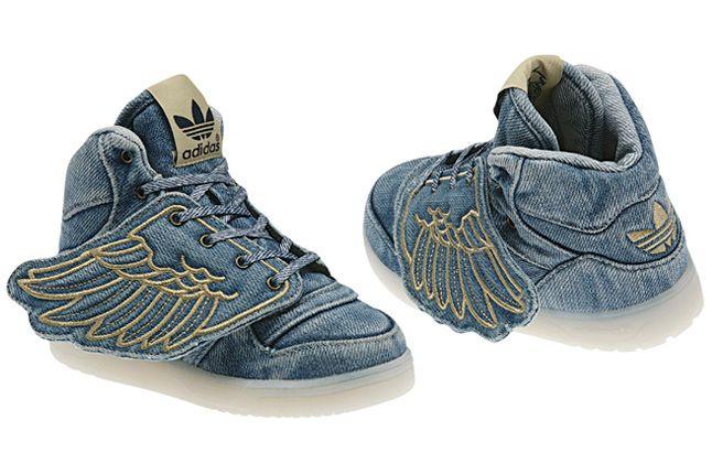 Adidas Originals Jeremy Scott Kids Denim Wings 01 1