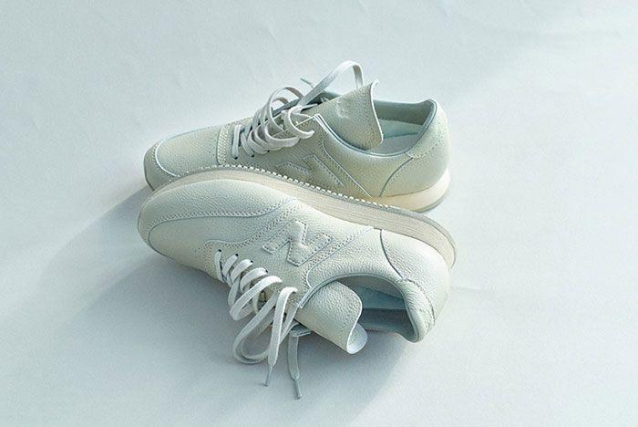 Auralee New Balance Comp100 White