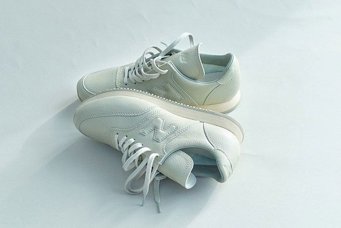 Auralee New Balance Comp100 White
