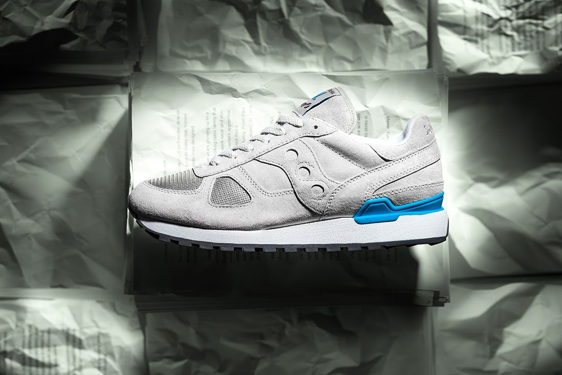 Universal Works Saucony Grey Lateral