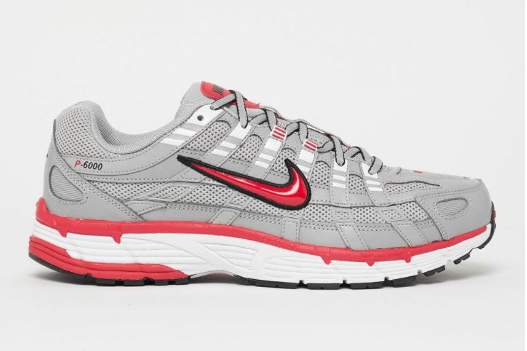Nike P 6000 Grey Solebox Black Friday Lateral Side Shot
