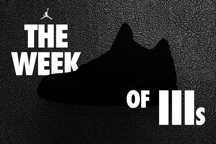 Air Jordan 3 Week Of 3S 1