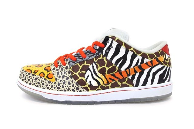 Sekure D Nike Sb Dunk Low Custom On Safari 1
