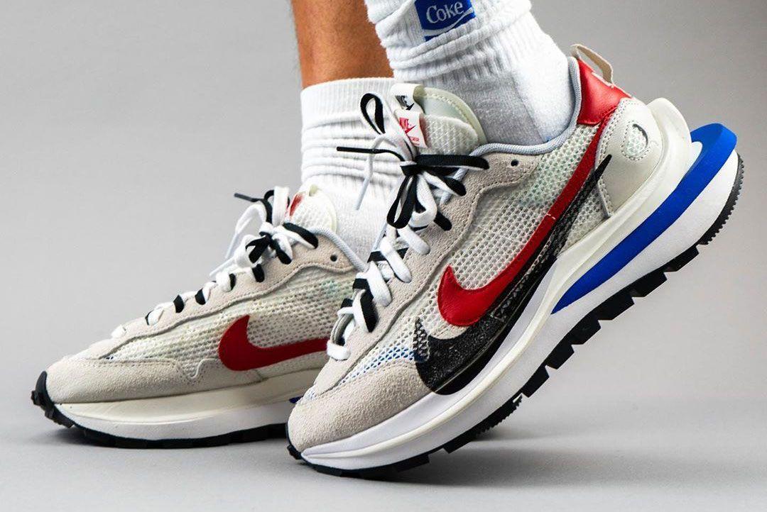 sacai x Nike VaporWaffle (Sail/Game Royal)