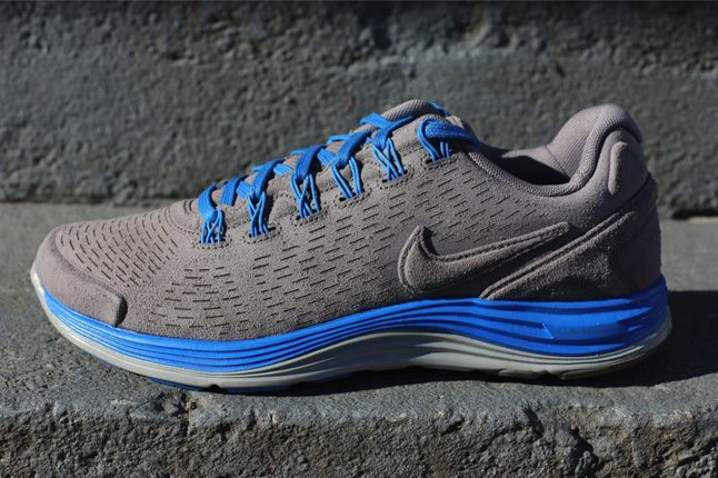Nike Lunarglide 4 Ext Blue Profile 1