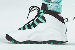 Air Jordan 10 Gs Menthol Thumb