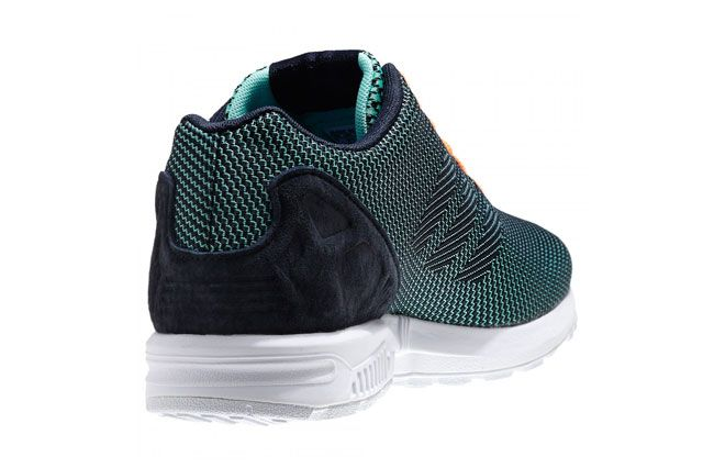 Adidas Zx Flux 8K Mint Green Heel