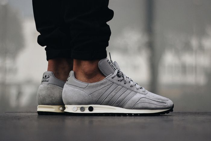 Adidas La Trainer Og Solid Grey3