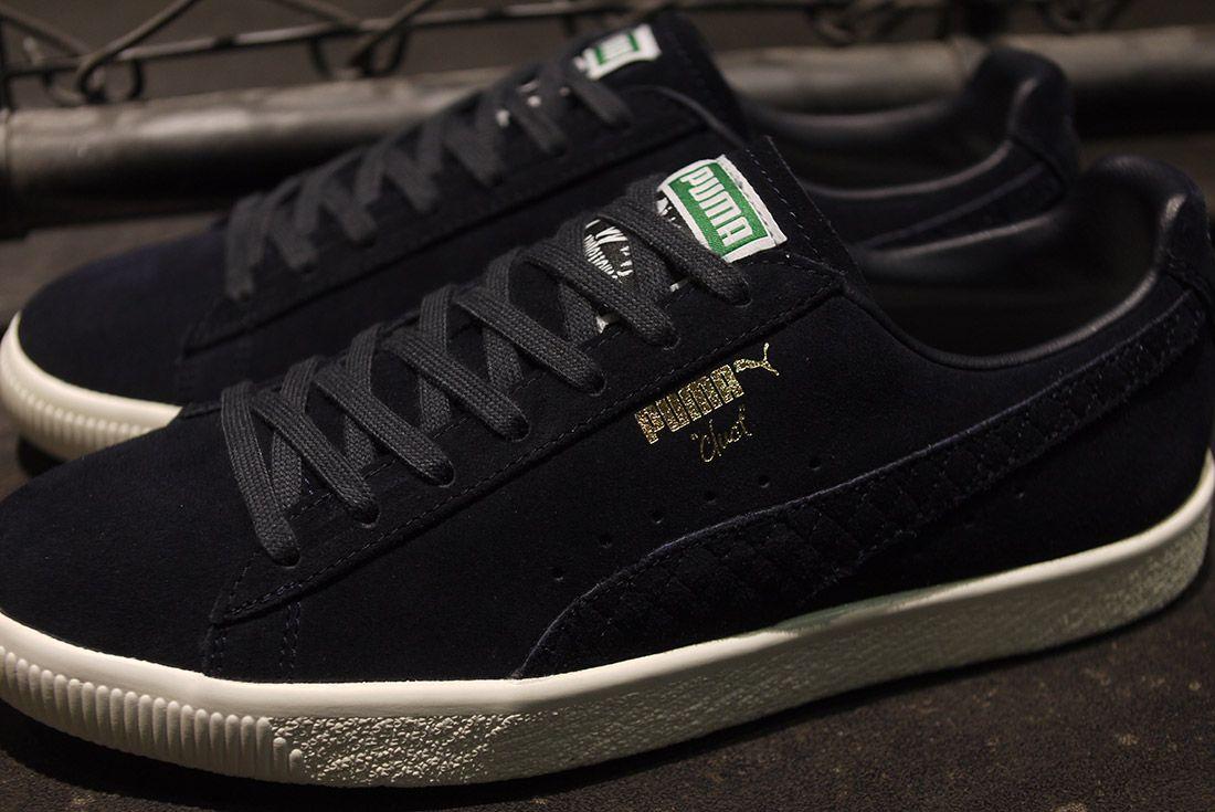 Cluct X Mita Sneakers X Puma Clyde Indigo 7