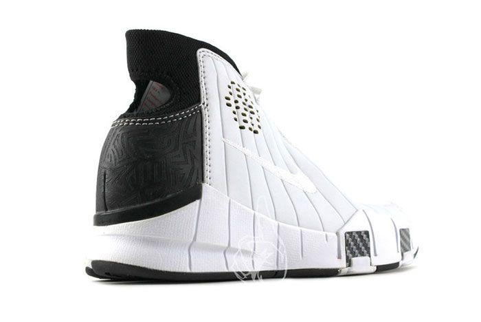 Nike Kobe 1 Prototype 2005 White Black Carbon Fiber 4