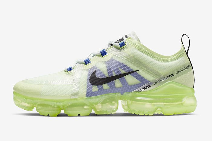 Nike Air Vapormax 2019 Barely Volt Ar6631 702 Side Shot 2