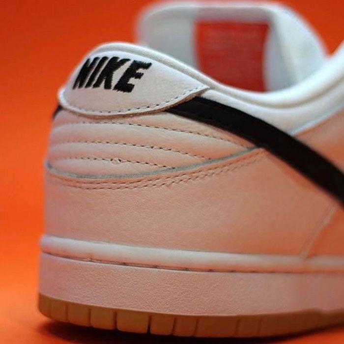 Nike Sb Dunk Low Orange Label White Back