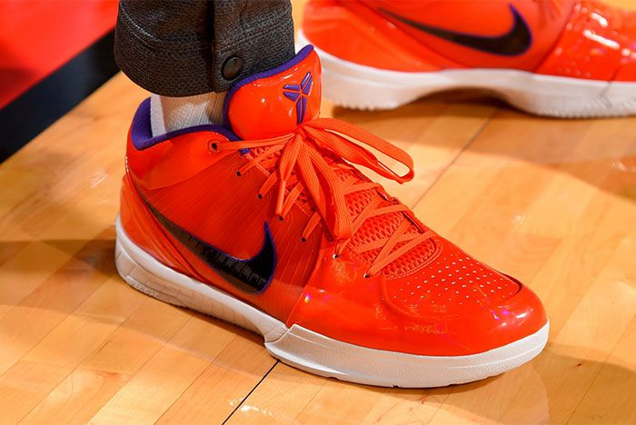 Undefeatd Nike Kobe 4 Protro Orange