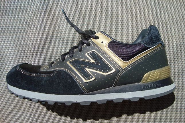 New Balance 576 Black Gold 1
